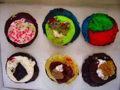cup cakes from baked by melissa e 42nd st