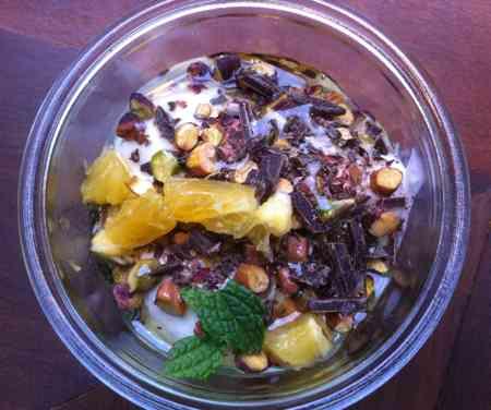 Chobani Pistachio Chocolate Yogurt NYC