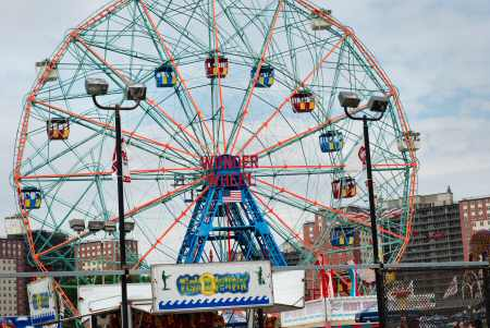 Coney Island Wonder Wheel  Brooklyn