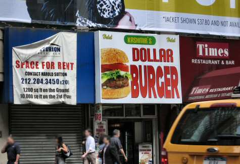 Kashmir Dollar Burger on 8th Ave NYC - © DirtCheapNYC.com