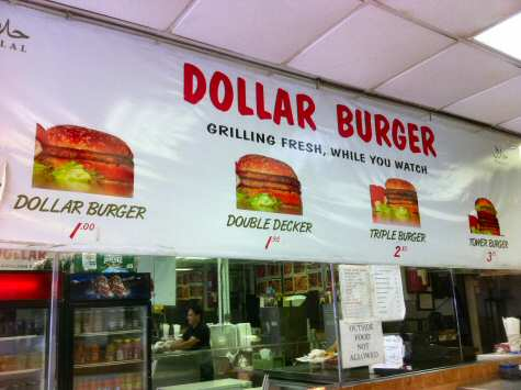 Kashmir Dollar Burger 8th Ave NYC - © DirtCheapNYC.com