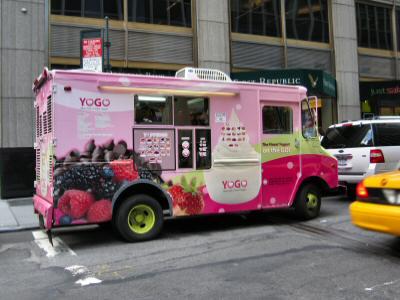 Yogo Truck E. 51st St & Park Ave - © DirtCheapNYC.com