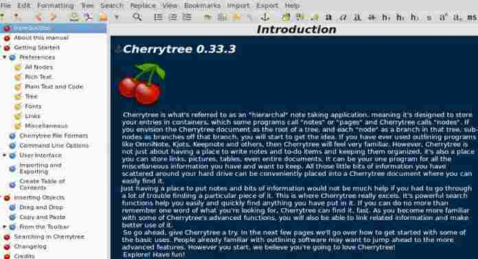 Free! God's Gift – Cherrytree Notes App
