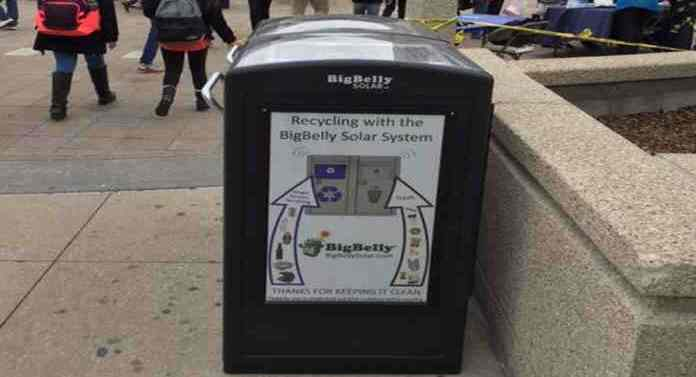 Free WiFi from NYC Trash Cans