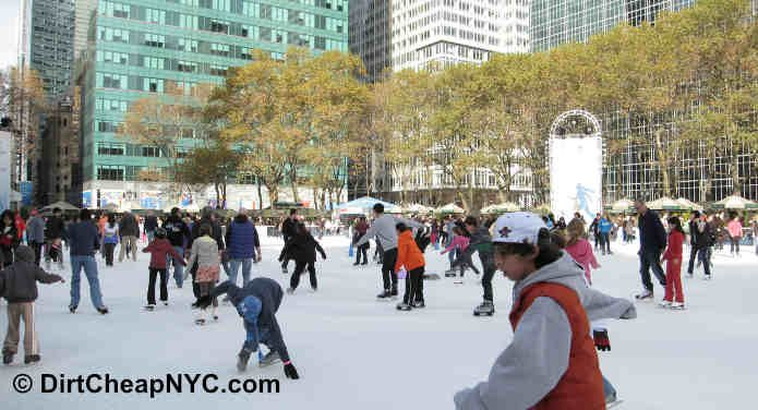 Bryant Park NYC Winter Carnival